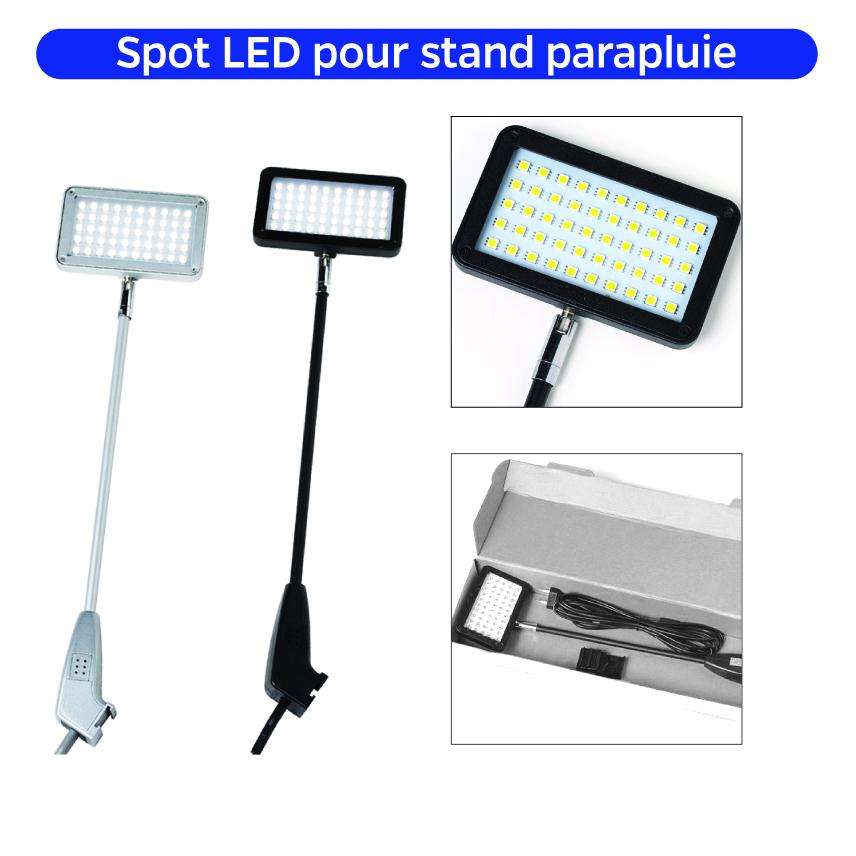 Spot Halogène Led Complément Accessoire Stand Ampoule Lumière Eclairage