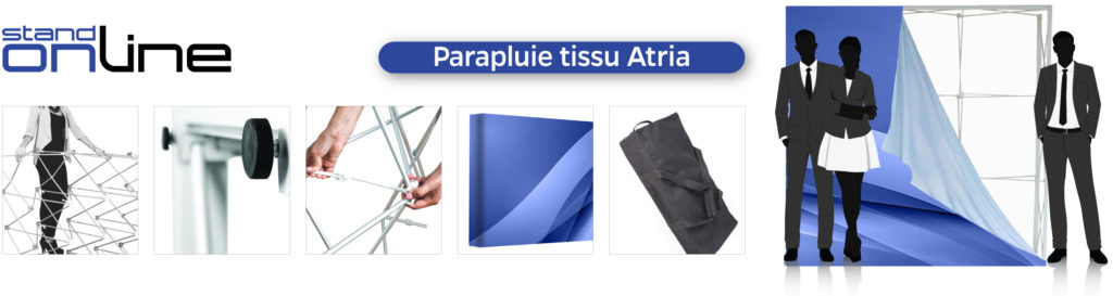 Stand Tissu, Stand Parapluie, Photocall, Stand, Sublimation, Pop-Up