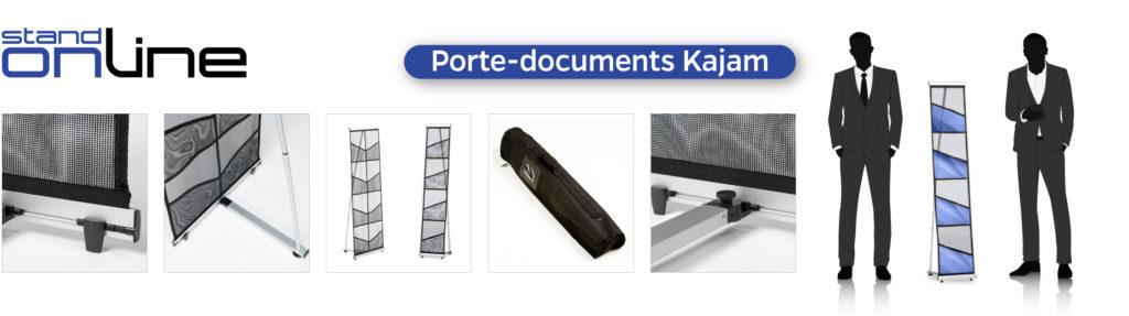 Porte document présentoir PLV Flyers Brochures