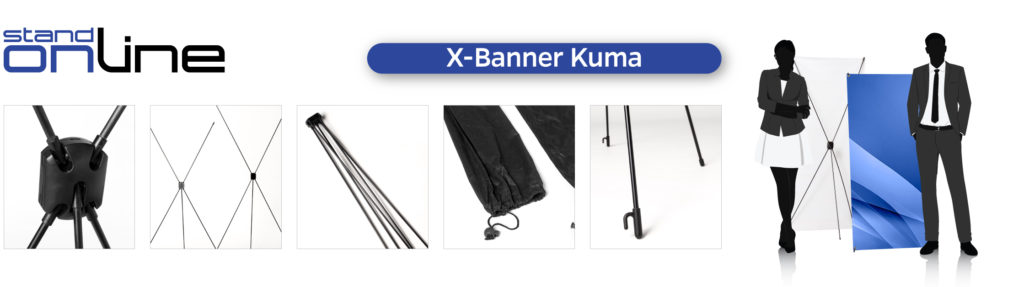 Kakemono Roll-up Totem Banner Stand PopUp Impression numérique Stand Parapluie Affiche Stickers