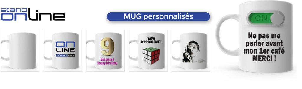Mugs, personnalisé, cadeau, tasse, café, fête, céramique, sublimation, goodies, promotionnel